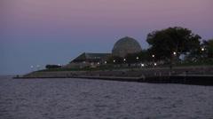 Adler Planetarium Chicago - stock footage