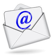 mail icon - stock illustration