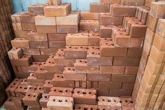 Mass of bricks Stock Photos