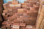 Stock Photo of mass of bricks