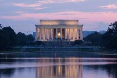 Lincoln Memorial, Washington, DC - stock photo