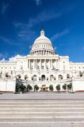 Stock Photo of United States Capitol Building, Washington, DC