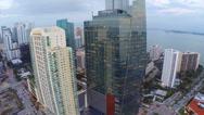 Stock Video Footage of Brickell JP Morgan