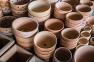 Stock Photo of mass of plant pot