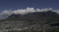 Table Mountain timelapse ,Capetown Stock Footage