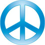peace symbol - stock illustration