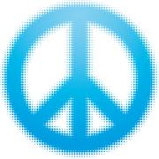 Peace symbol Stock Illustration