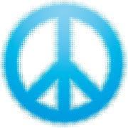 peace symbol - stock illustration
