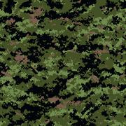Digital camouflage patterns Stock Illustration