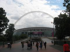 We're on our way to Wembley! - stock photo