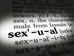 Dictionary sexual Stock Illustration