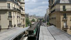 Paris transport Stock Footage
