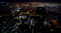 Cityscape Neon 13 Los Angeles Timelapse Light Trails HD Footage