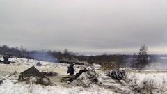 Firing line Stock Footage