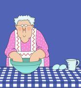 Stock Illustration of like grandma used to make