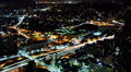Cityscape Neon 28 Los Angeles Timelapse Light Trails Footage