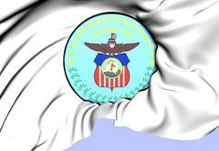 columbus coat of arms, usa. - stock illustration