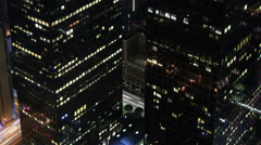 Stock Video Footage of Cityscape Neon 34 Los Angeles Timelapse Light Trails