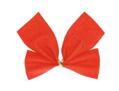 Stock Photo of red ribbon bow