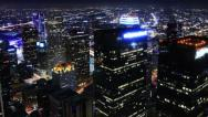 Stock Video Footage of 4K Cityscape Neon 21 Los Angeles Timelapse Light Trails