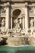 Stock Photo of trevi fountain, rome, italy
