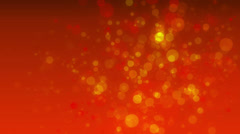 Golden orange abstract motion background Stock Footage