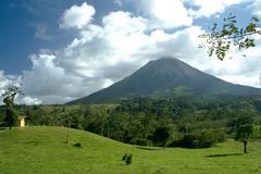 arenal volcano - stock photo