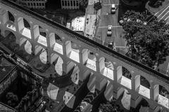 Carioca aqueduct Stock Photos
