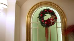 Christmas interior Stock Footage