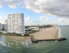 Fort Lauderdale ja sen rannalla Kuvituskuvat