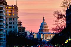 Stock Photo of united states capitol, usa