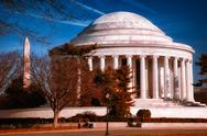 Stock Photo of the jefferson memorial