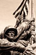 Marine corps war memorial Stock Photos