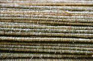 Stock Photo of straw roof