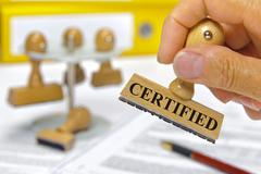 certified - stock photo