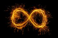 Stock Photo of infinity symbol