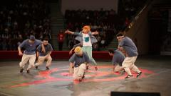 Youth dance breakdance - stock footage
