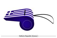 Pilli Helleenien tasavallan lippu Piirros