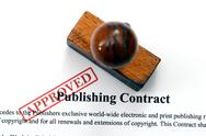 Stock Photo of publishing contract