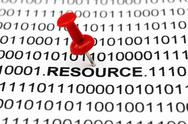 Stock Photo of web resources