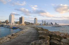Tel Aviv Beach Kuvituskuvat