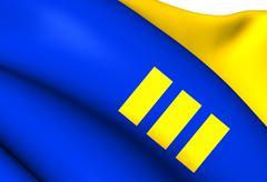 flag of meijel - stock illustration