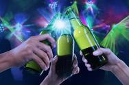 Stock Illustration of beer party