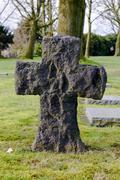 German cemetery friedhof in flanders fields menen belgium Stock Photos