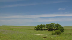 Prairie pasture time lapse Stock Footage