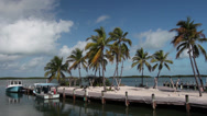Stock Video Footage of Fishing boats in the Florida Keys