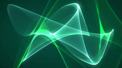 Dimension graph mix green Stock Footage