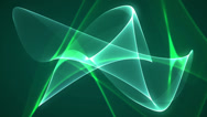 Stock Video Footage of dimension graph mix green