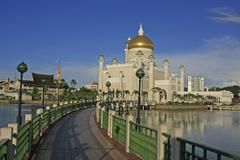 Sultan omar ali saifudding mosque, bandar seri begawan, brunei Stock Photos