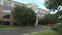 physicians office bldg WS - stock footage